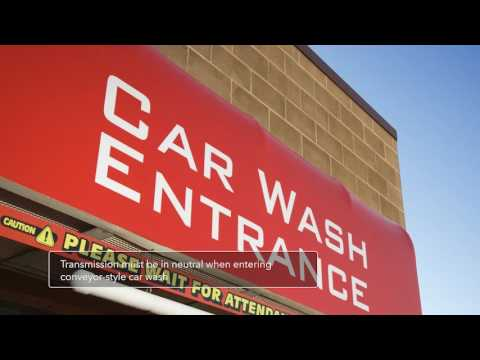 How to keep vehicle in neutral entering a conveyor type car wash - 2018 Honda Odyssey