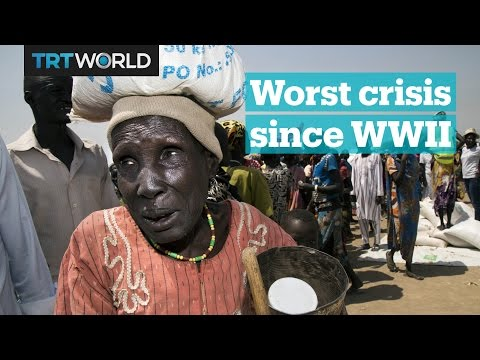 What's causing the worst humanitarian crisis in UN history?