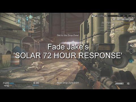 Fade Jake - SOLAR 72 HOUR RC RESPONSE!!!