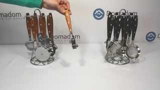 Наборы кухонных инструментов Holzern 8 предметов TM Krauff(Купить эти наборы кухонных инструментов можно здесь: ..., 2015-05-19T06:13:57.000Z)