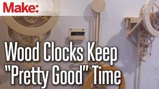 Wood Clocks By David West