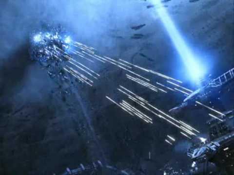 matrix mech-robots battle with music from transformers