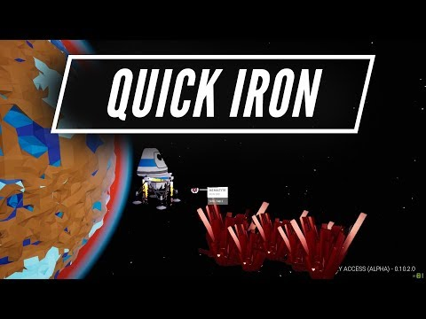 Quickest Way To Get Iron - Astroneer Starter Guide