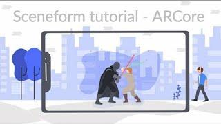 تضاف وجوه   ARCore   بناء ع التطبيقات في أندرويد باستخدام Sceneform