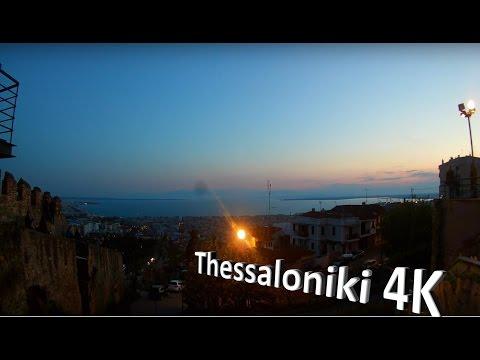 Thessaloniki, Greece -  Kastra 4K Timelapse