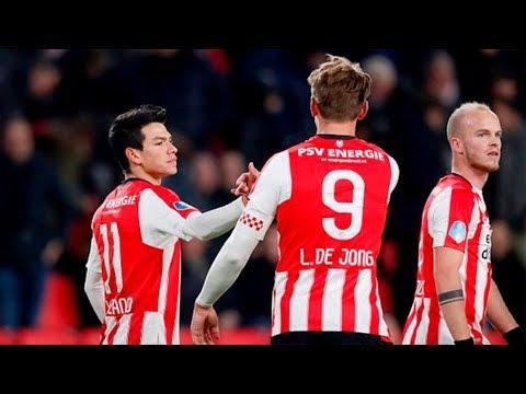 GOLAZO DE HIRVING LOZANO | PSV VS EXCELSIOR 1-0 | HD