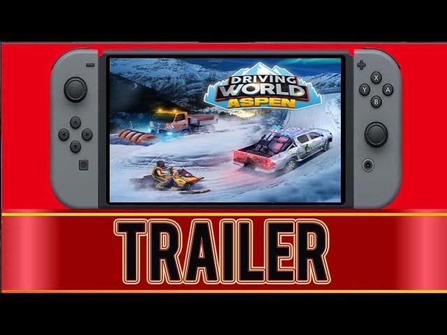 Driving World Aspen - Nintendo Switch