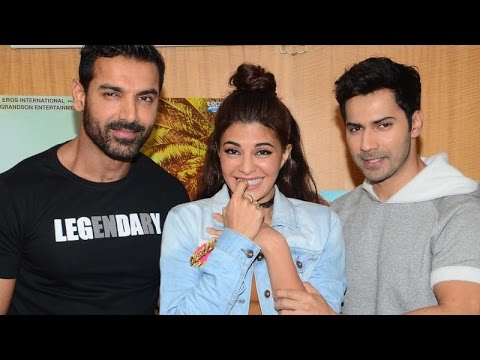 Exclusive Interview with Varun Dhawan, Jacqueline Fernandez and John Abraham   Dishoom   SpotboyE