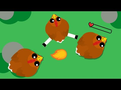 Mope.io BUT Everyone Is Chicken!! Chicken Eats Chickens