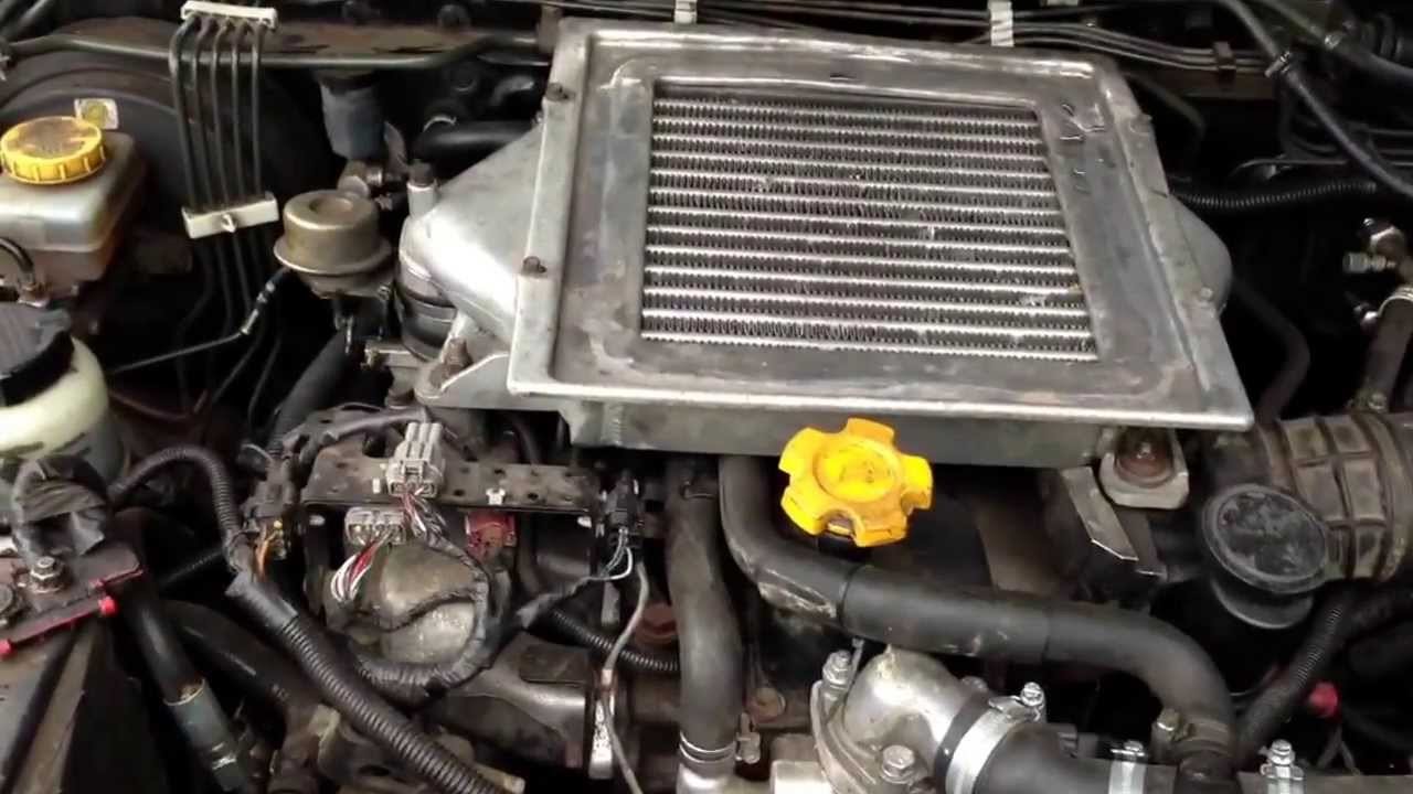 Nissan Navara fitted with Terrano 27TD engine  YouTube