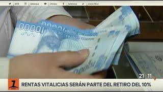 Tercer retiro del 10%: rentas vitalicias podrán solicitarlo desde este lunes