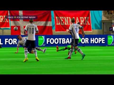 Nigeria vs Denmark Quarterfinal Game Pretend Olympic Games Using 2014 FIFA World Cup Brazil