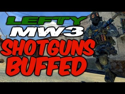 Shotgun Mw3 Patch Mw3 Shotguns Buffed Striker