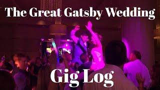 DJ Gig Log - The Great Gatsby Wedding