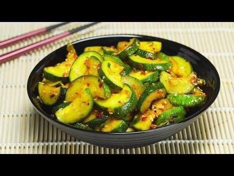 Кабачки по-корейски. Рецепт от Всегда Вкусно!