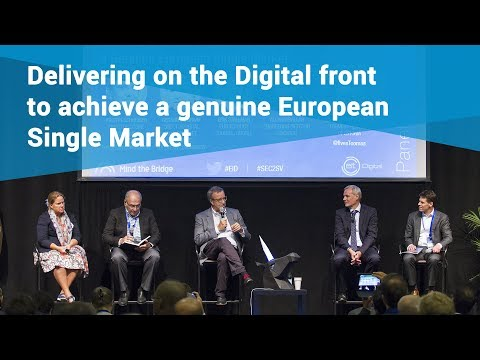 Delivering on the Digital front to achieve a genuine EU Single Market | European Innovation Day 2017