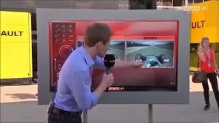 Lewis Hamilton and Nico Rosberg crash Spain GP 2016