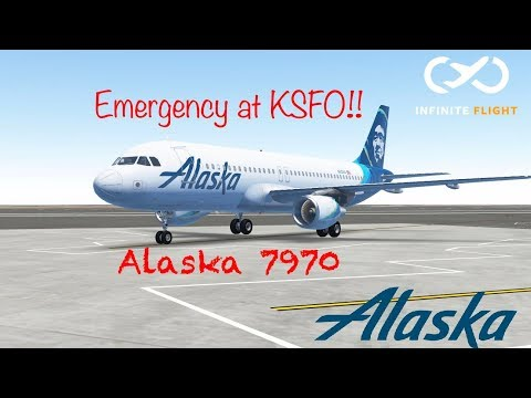 |Infinite Flight| Emergency Fuel at KSFO || San Francisco Int'l ATC : Tower & Ground |