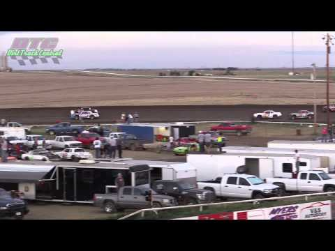 IMCA Stock Car Heats Wakeeney Speedway 5 26 14