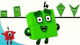 Numberblocks - Learning Shapes | Learn to Count | Learning Blocks