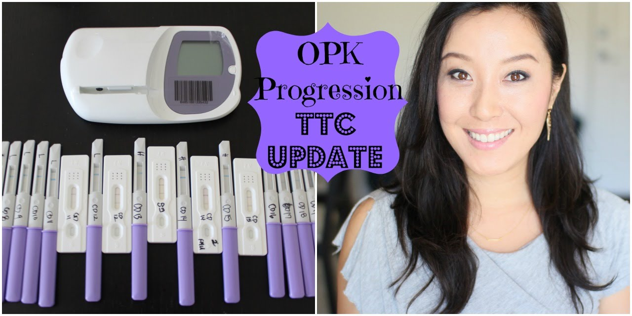 Opk Progression Using Clearblue Fertility Monitor Youtube