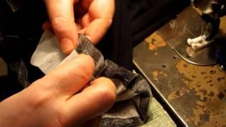 Пошив не сложных, женских брюк.  Часть 4