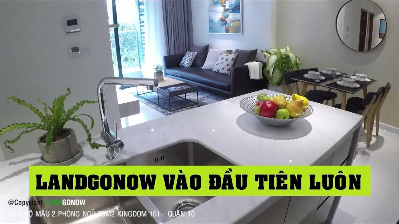 Căn hộ mẫu Kingdom 101 78m2 2 phòng ngủ, Tô Hiến Thành, Quận 10 – Land Go Now ✔