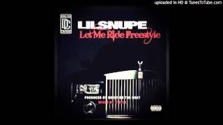 Lil Snupe   Let Me Ride Freestyle May 2013  RIP Lil Snupe