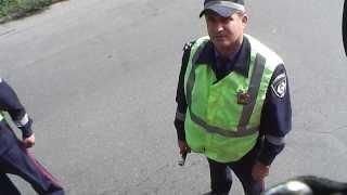 ГАИ. Харьков. Инспектор - балаболка.(, 2013-09-21T09:58:23.000Z)