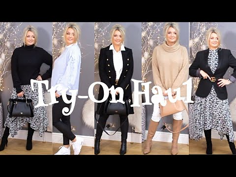 Mix & Match Try On Haul / I Wore My Son's Blazer #Ad