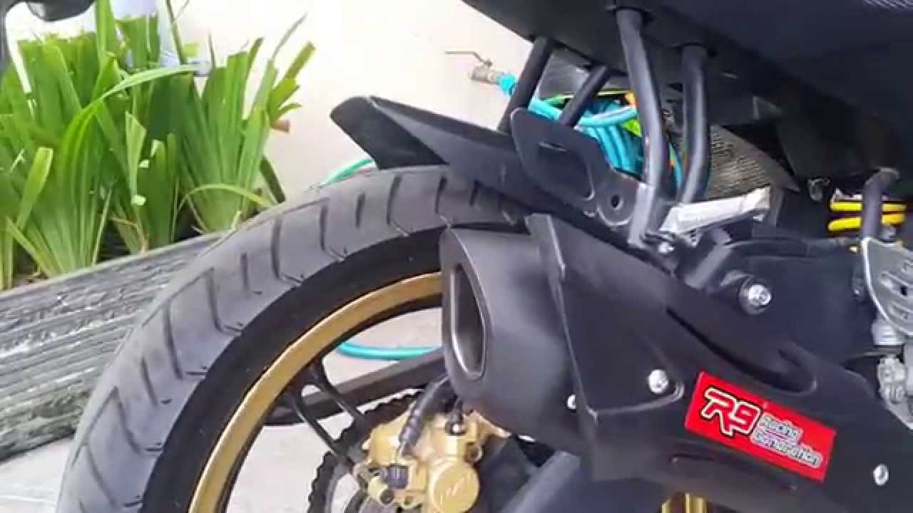 Yamaha R15 With R9 Misano Knalpot Assen Vixion Old New Nvl Full System