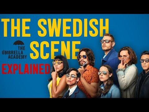 THE UMBRELLA ACADEMY SWEDISH SCENE EXPLAINED