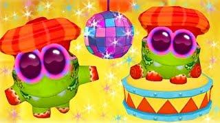 Виртуальный питомец АМ НЯМ # 9 My om Nom смешной виртуальный зверек как мультфильм Funny Games