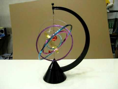Kinetic Solar System Desk Toy Avi Youtube