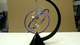 Kinetic Solar System Desk Toy.AVI