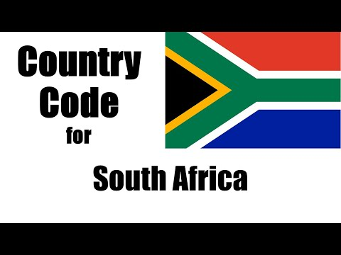 South Africa Dialing Code - South African Country Code - Telephone Area Codes In South Africa
