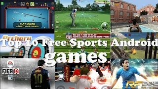 Top 10 Best Free Android Sports Games