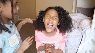 Doing My Little Sister's Curly Hair