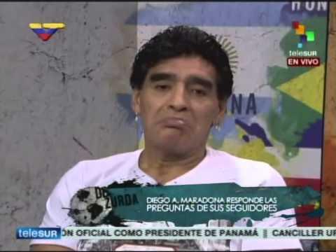 """Maradona, ¿director técnico de la Vinotinto? """"Tengo que hablar con Nicolás Maduro"""""""