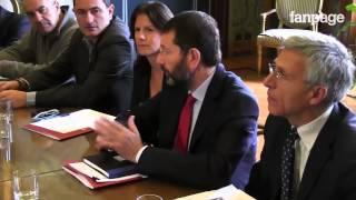 """Marino incontra i cittadini di Tor Sapienza: """"Ci rivedremo a breve"""""""