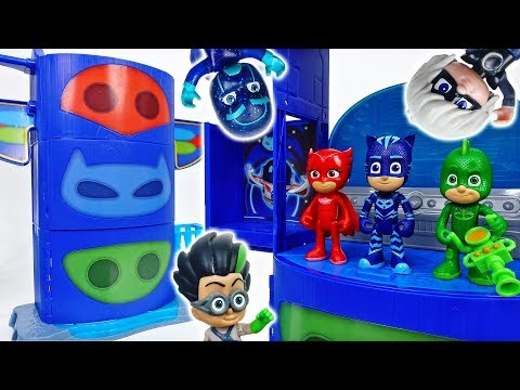 PJ Masks Got A New Transforming Base~! #ToyMartTV