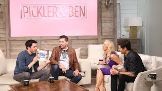 The Property Brothers On The Brady Bunch House, Their Latest Book & Having Kids! - Pickler & Ben