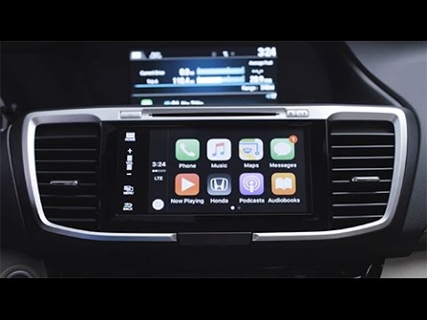 2016 Honda Accord Tips & Tricks: Apple CarPlay Setup
