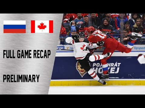 Canada Vs Russia Full Game Highlights | December 28, WJC 2020