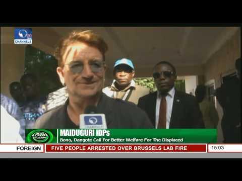 Maiduguri IDPs: Bono, Dangote Call For Better Welfare For The Displaced