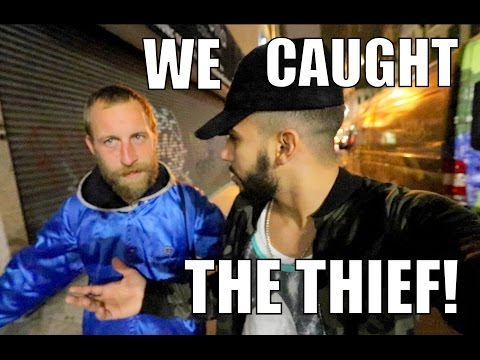 WE CAUGHT THE LAPTOP THIEF!!!!!