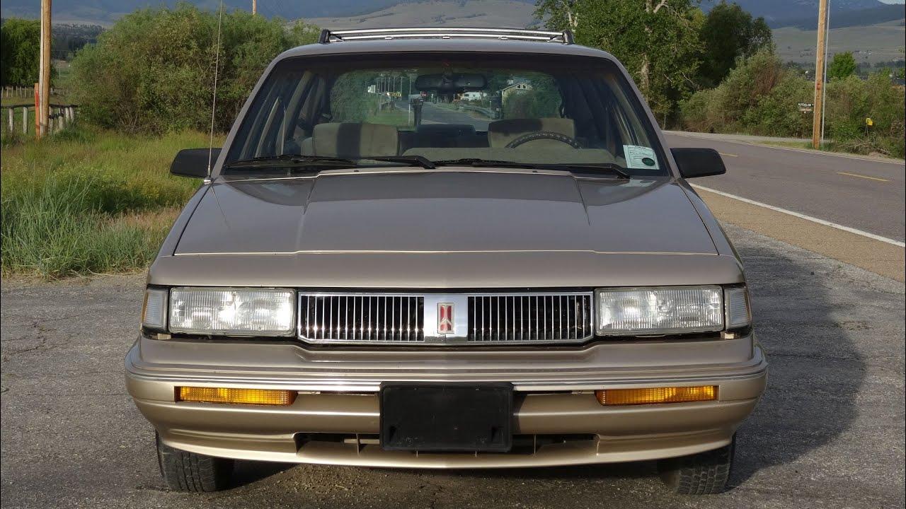 Oldsmobile Cutlass Ciera Interior