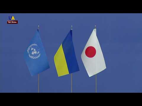 Ukrainians Celebrate New Japanese Emperor
