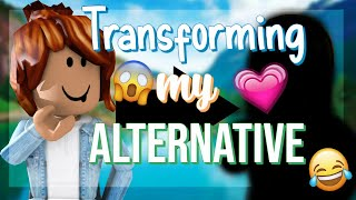 [ROBLOX] Transforming my ALT Account
