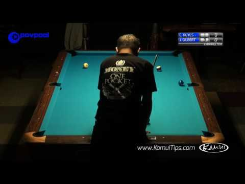Efren Reyes vs Jesse Gilbert - One Pocket Race to 8
